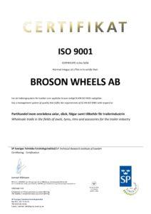 Broson Steel –Cert. ISO 9001 Wheels-page